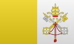 Flagge von Vatikan